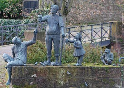 Keltern Dietlingen Sehenswürdigkeit Statuen