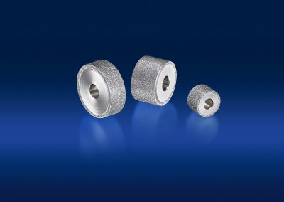 drei rotierende Präzisionswerkzeuge Hesondiamant Produktbild