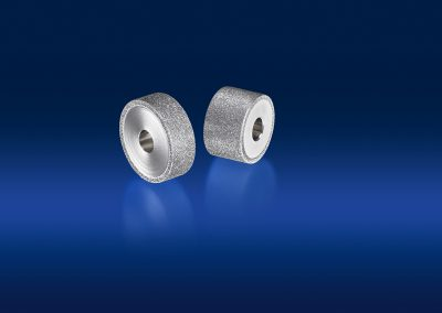 zwei rotierende Präzisionswerkzeuge Hesondiamant Produktbild